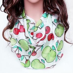 Siidisall Kirsid ja õunad