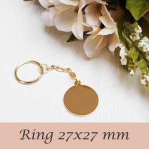 Ring (kuldne värv)
