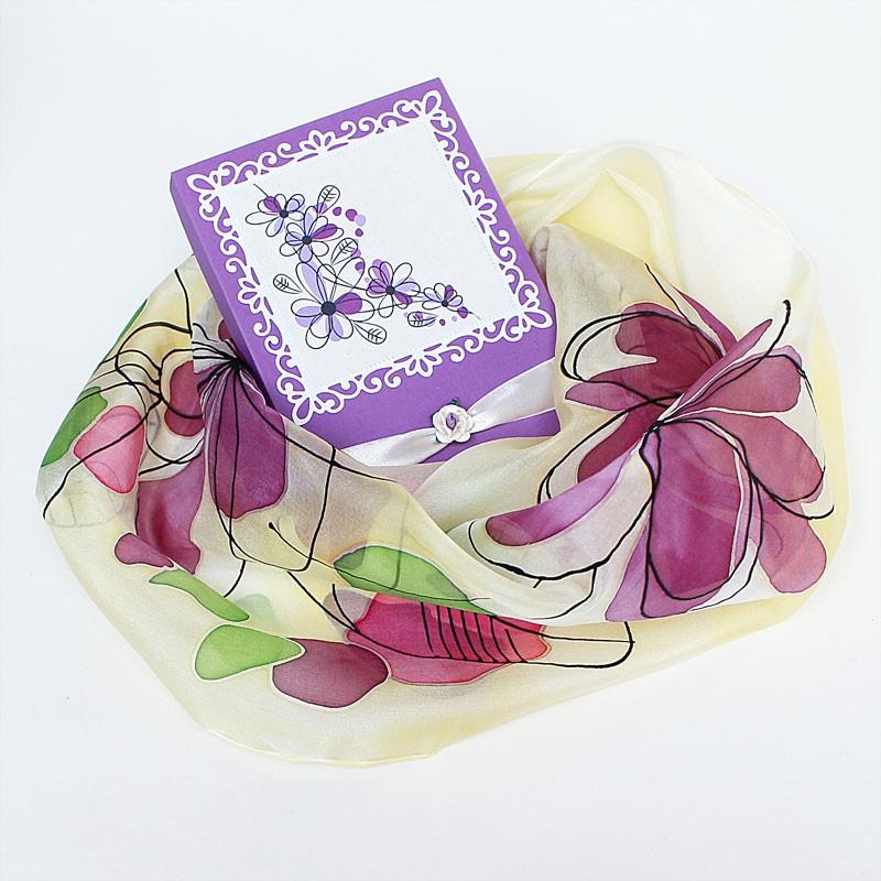 Siidisall Lilla lilled
